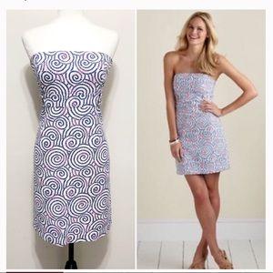 Vineyard Vines Dresses - EUC Vineyard Vines nautical swirl dress size 6